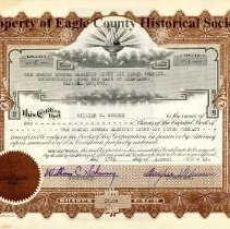 Image of Stock Certificate, Schumm power company