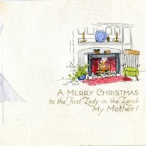 Image of Christmas card for mother