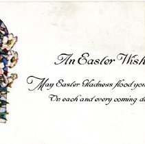 Image of Easter greeting card