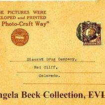 Image of Photo-Craft envelope, May 26, 1931
