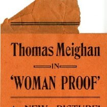 Image of 'Woman Proof ,'handbill