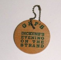 Image of 2001.04.17 - Dickens on the Strand Key Chain