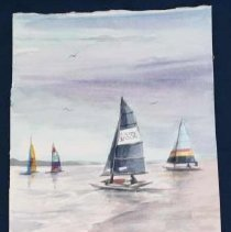 Image of 2008.018 - Sail Boats on West Beach