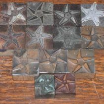 Image of 2009.001.125-137 - Texas Star Flour Mills Printing Blocks