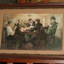 Image of 2009.023 - Painting, Gentlemen Playing Poker
