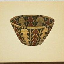 "Image of 2009.160.1,2 - Print, ""VI-Panamint Coiled Basket"""