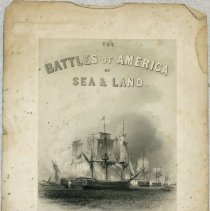 Image of 2009.202 - Print, Battle of Plattsburg Bay