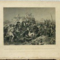 Image of 2009.221 - Print, Gen. Arnold at Battle of Saratoga