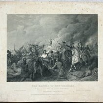 """Image of 2009.247 - Print, """"The Battle of New Orleans"""""""