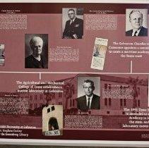 Image of 2010.006.1-9 - TAMUG Exhibit Panels