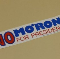 Image of 2012.031.3 - Bumper Sticker