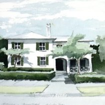 Image of 2012.043.07 - Watercolor sketch