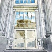 Image of 2012.043.11 - Watercolor sketch