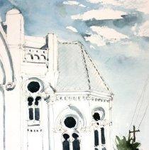 Image of 2012.043.15 - Watercolor sketch