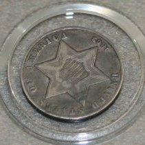 Image of 67.27 - Silver Three Cent Piece
