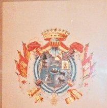 Image of 68.56 - Coat of Arms For Bernardo De Galvez