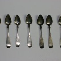 Image of 75.048.1-7 - Set of Silver Spoons