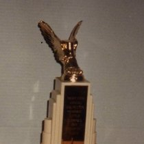 Image of 76.103.1 - Trophy, Sam Houston School
