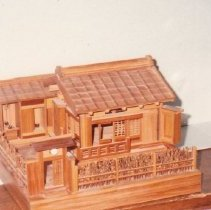 Image of 76.120.25 - Miniature of a Japanese House