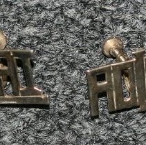 Image of 76.142.9a,b - Set of Political Earrings