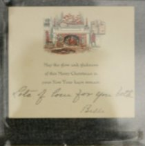 Image of 76.169.2a,b - Christmas Card and Envelope