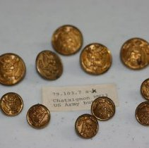 Image of 79.103.7.a-k - Military Buttons