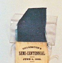 Image of 79.118.a-l - Ribbon Badges, Galveston Veteran's Assoc