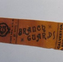 Image of 79.129 - Badge / Ribbon; St. Louis Branch Guards