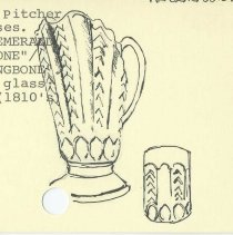 Image of 80.053.39.a-e - Pitcher with Four Glasses
