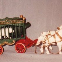 Image of 80.059 - Iron Toy, Overland Circus Wagon
