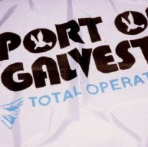 Image of 81.053 - House Flag For the Port of Galveston