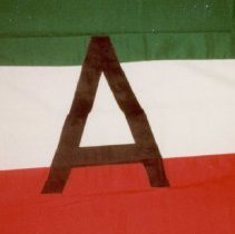 Image of 81.063 - House Flag For United Arab Shipping Comp