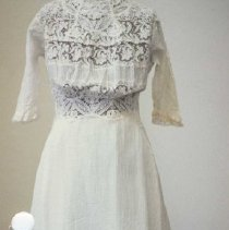 Image of 86.017.1 - Wedding Dress