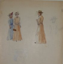 Image of 86.022.67 - Notes on Woman's Dress