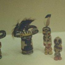 Image of 86.044.32.1-5 - Kachina Doll