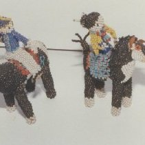 Image of 86.044.38.2-3 - Comanche Beaded Doll