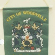 Image of 87.032.1 - Banner From Woodville, South Australia