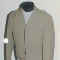 Image of 87.034.3a - Us Army Officer's Field Jacket