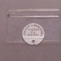 Image of 87.036.2 - Identification Tag