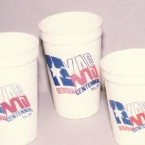 Image of 88.008.11.a-c - Texas Sesquicentennial Glasses