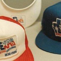 Image of 88.008.12.a-c - Texas Sesquicentennial Caps