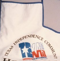 Image of 88.008.4 - Texas Sesquicentennial Apron