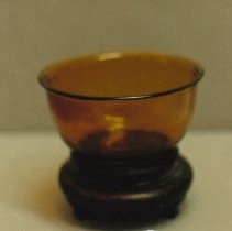 Image of 88.017.24a,b - Peking Glass Bowl with Stand