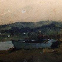 Image of 90.031.112 - Skiff At River's Edge