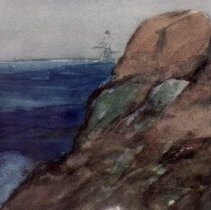 Image of 90.031.151 - Sea Passing Between Two Rocks