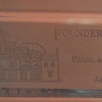 Image of 91.020.4 - Award, Founders, Galveston Historical So