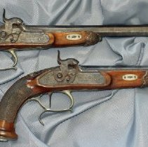 Image of 93.006.1,2 - Pair of Dueling Pistols