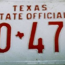 Image of 93.015.8.1,2 - Automobile License