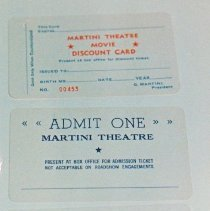 Image of 93.037.12.1-3 - Martini Theater Movie Discount Cards