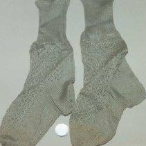Image of 94.012.3.a,b - Infant Socks